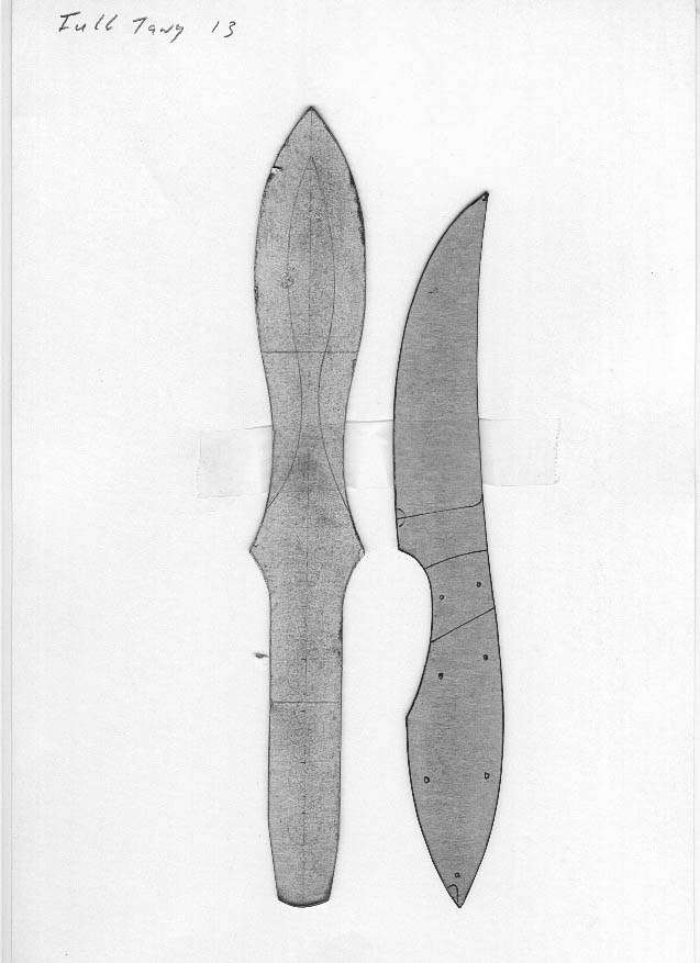 Lloyd Harding S Knife Templates,Silk Saree Simple Embroidery Designs For Blouse